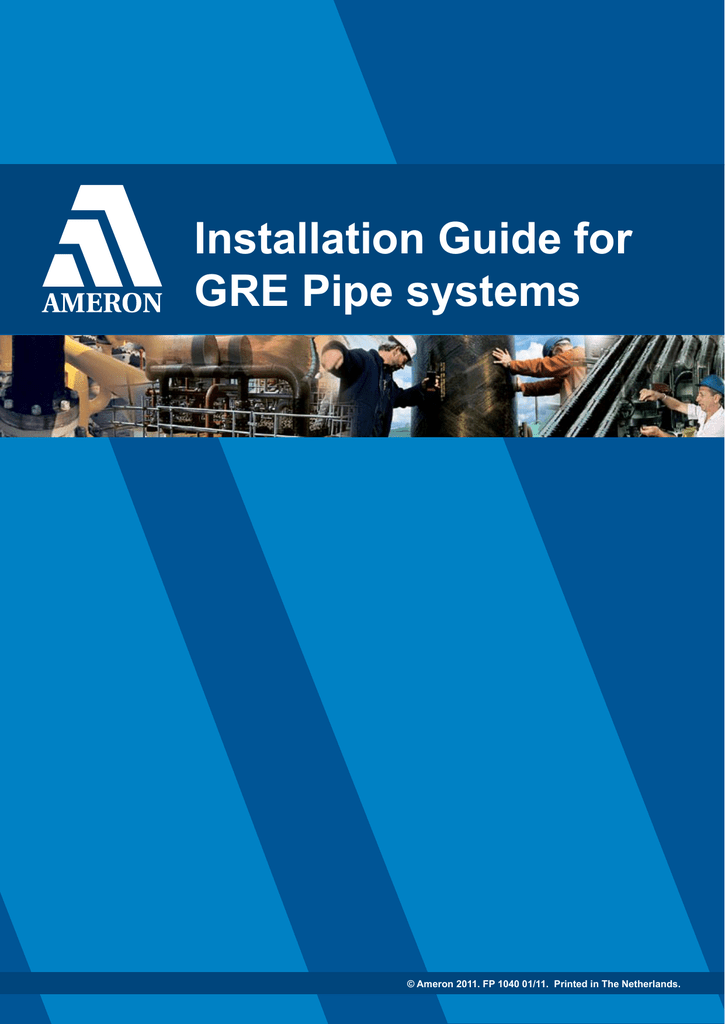Installation Guide for GRE Pipe systems