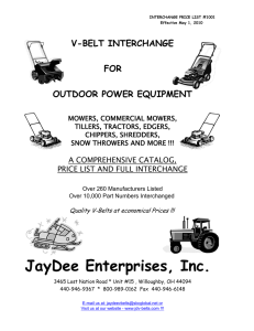 JayDee Enterprises, Inc.