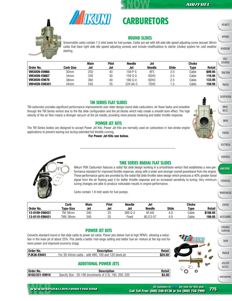 Carburetor Main Jet Carby For Mikuni Carb # 110 112.5 115 117.5 120 125