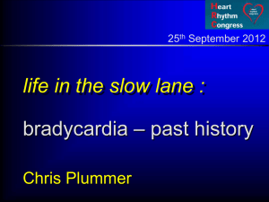 Dr C Plummer - Heart Rhythm Congress