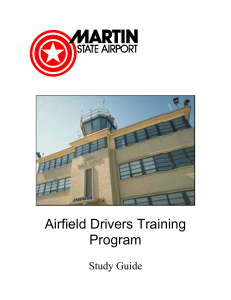 Airfield Drivers Training Program