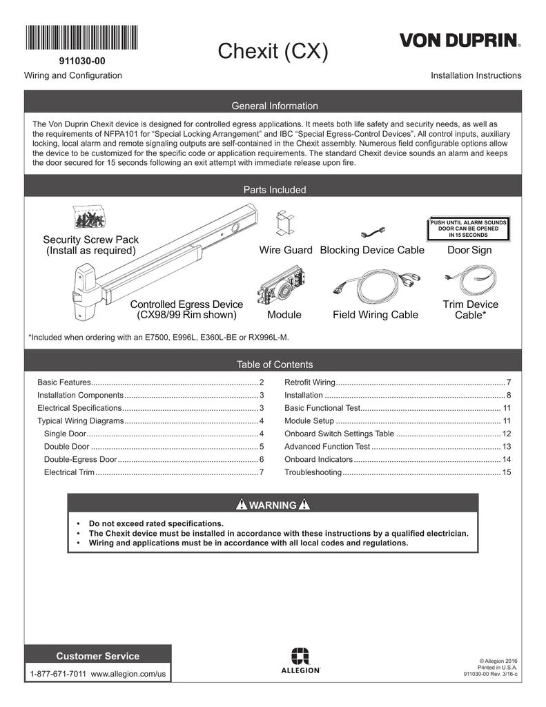 von duprin ept 10 wiring diagram von duprin 99eo  u2022 mifinder co