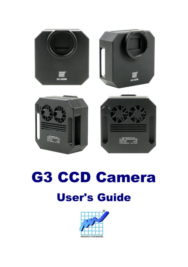 G3 CCD Camera Operating Manual