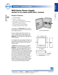 WCS Series Power Supply