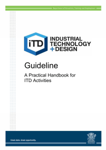 ITD Guidelines – A Practical Handbook for ITD Staff