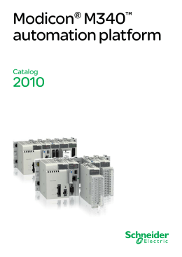 Modicon® M340™ automation platform