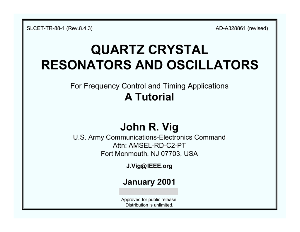 Quartz Crystal Resonators And Oscillators Franklin Oscillator Circuit Tesla Shuttle How To 018764644 1 Aae5eb24d55f872a8f52396ea3ae9118