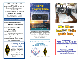 information on Amateur Radio onboard a bost