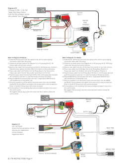 EMG    JVX Set    Wiring       Diagram