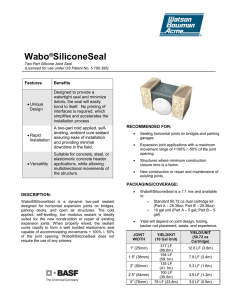 Wabo®SiliconeSeal
