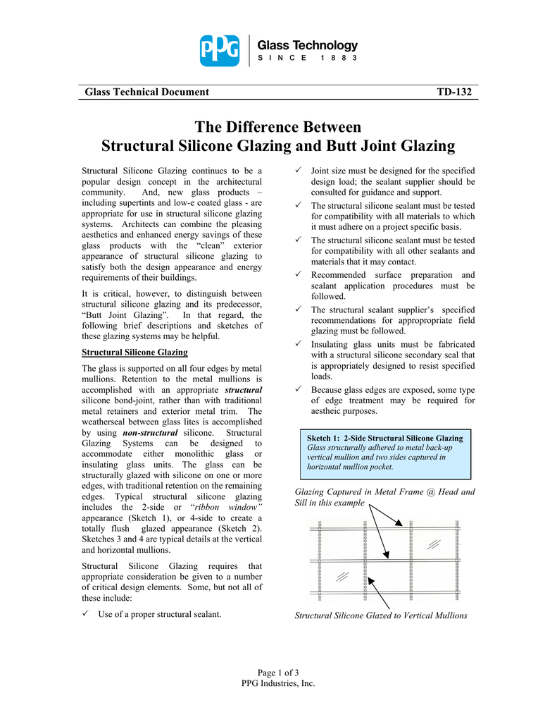 The Difference Between Structural Silicone Glazing and Butt