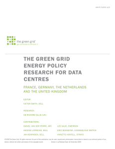 White paper - The Green Grid