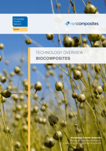 technology overview biocomposites