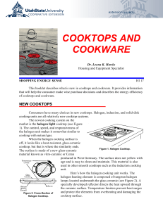 Cooktops and Cookware - Utah State University Extension