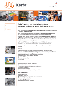 Kerfa® Heating and Insulating Systems Customer