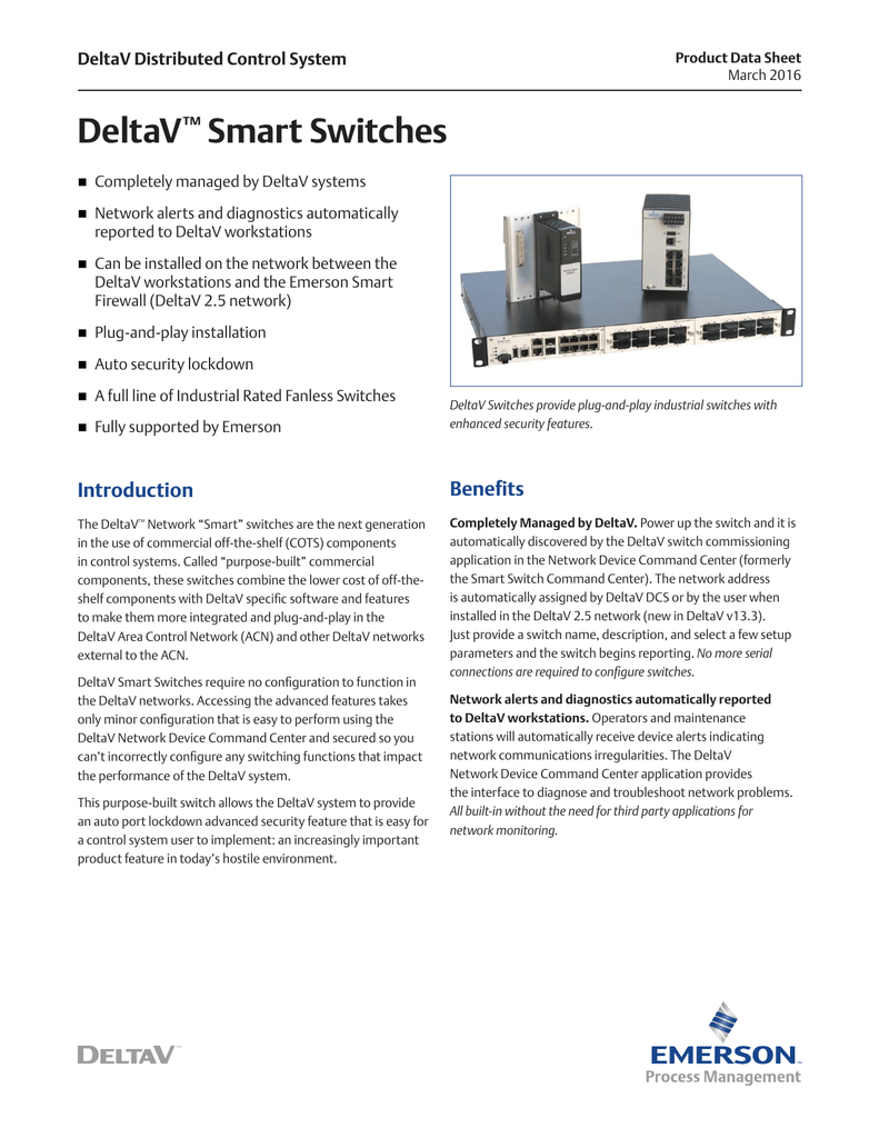 DeltaV Smart Switches - Emerson Process Management