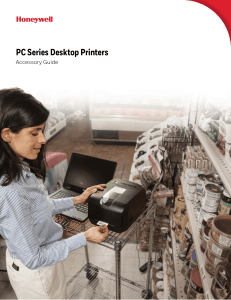 PC Series Desktop Printers Accessory Guide