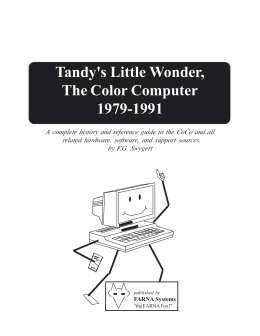 Tandy`s Little Wonder, The Color Computer 1980-1991