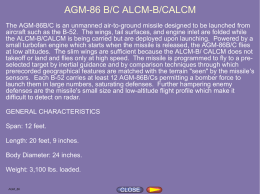 AGM-86 CALCM