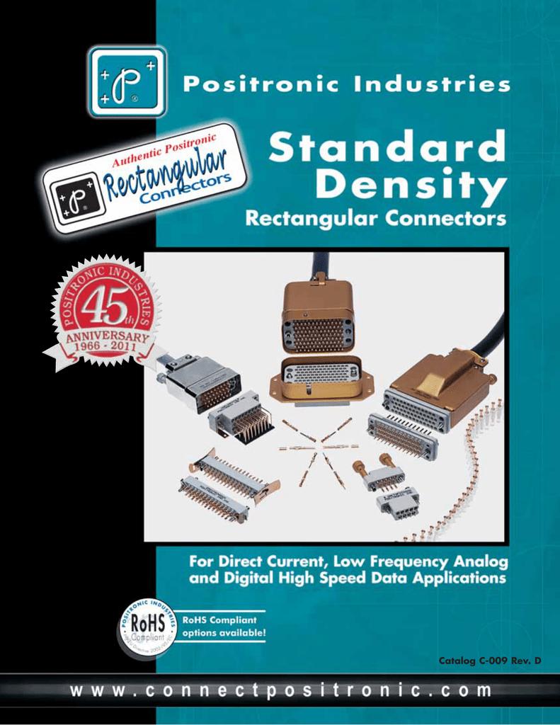 standard density rectangular catalog