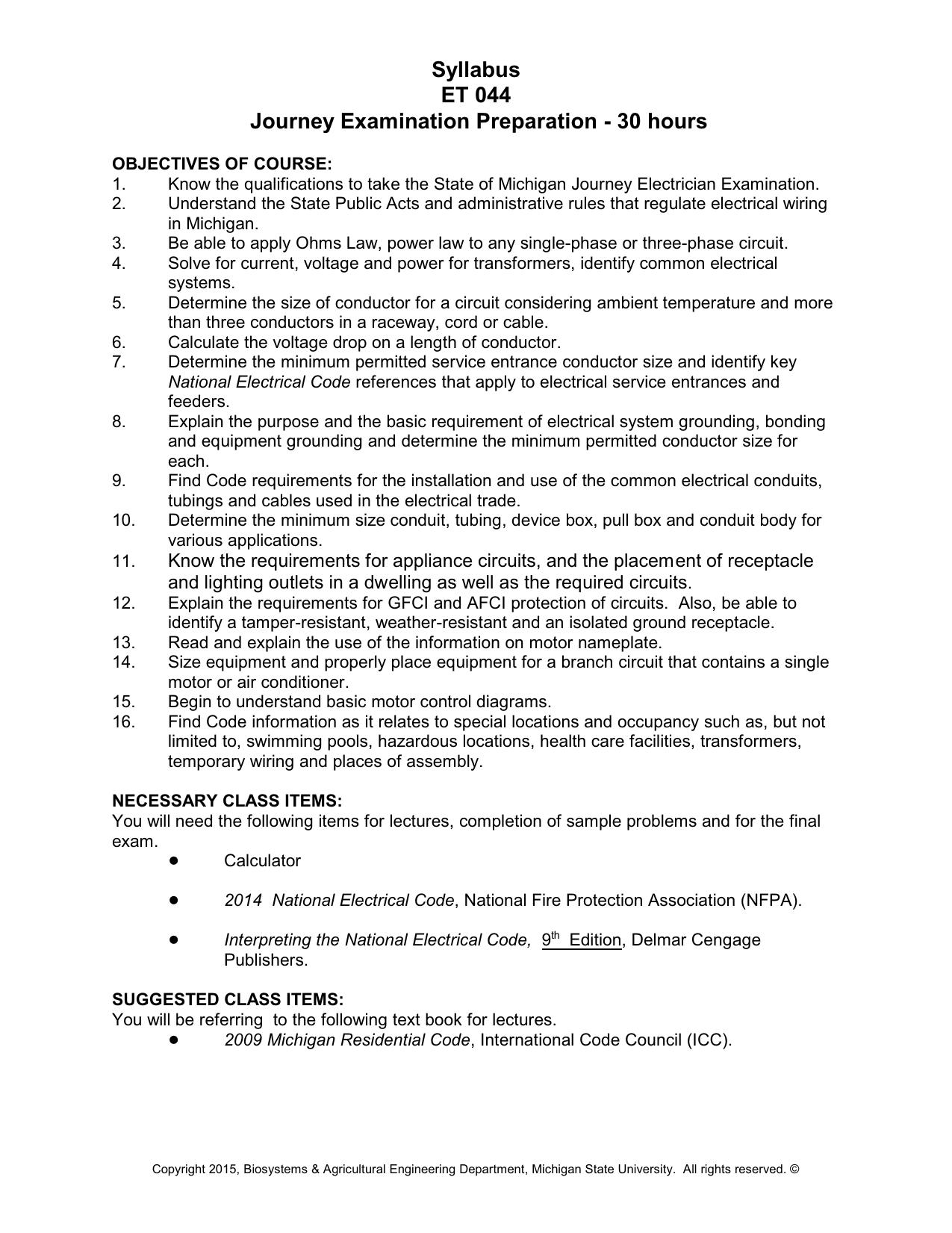 2009 Michigan Residential Code Book