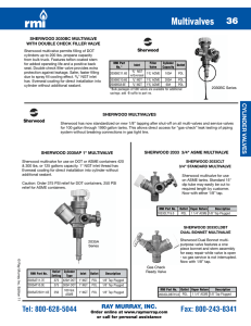 Multivalves - Ray Murray Inc.