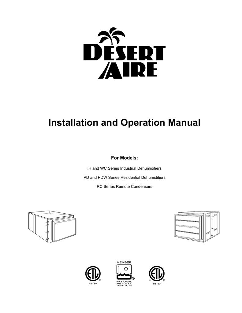 Installation And Operation Manual Humidistat Wiring Diagram 018769038 1 0435f474938f3ae0c62380bf939bc9dd