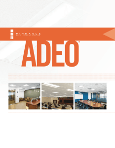 adeo shallow - Pinnacle Architectural Lighting
