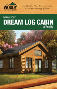 DREAM LOG CABIN - Cabintek | Log Homes
