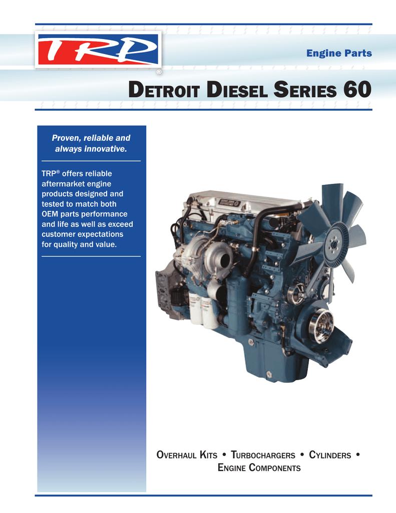 Engine Parts Detroit S-60 Catalog – pdf