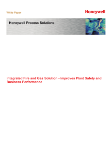 Integrated Fire and Gas Solution