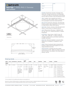 Specification Sheet - Day-O-Lite