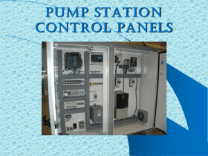 PUMP STATION CONTROL PANELS