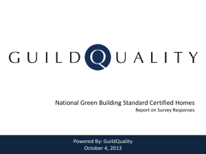 National Green Building Standard Certified Homes