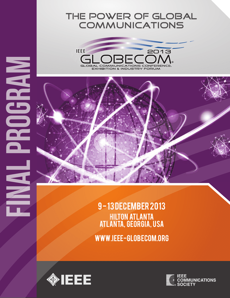 Available Now Ieee Globecom 2013 Lian Dung Electric Wire Material Co Ltd
