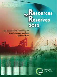Resources to Reserves 2013 - International Energy Agency