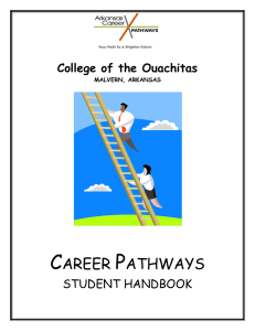 career pathways - College of the Ouachitas