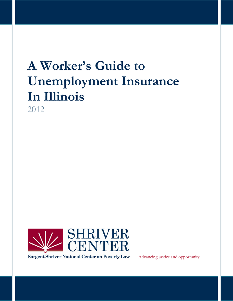 A Workers Guide To Unemployment Insurance In Illinois