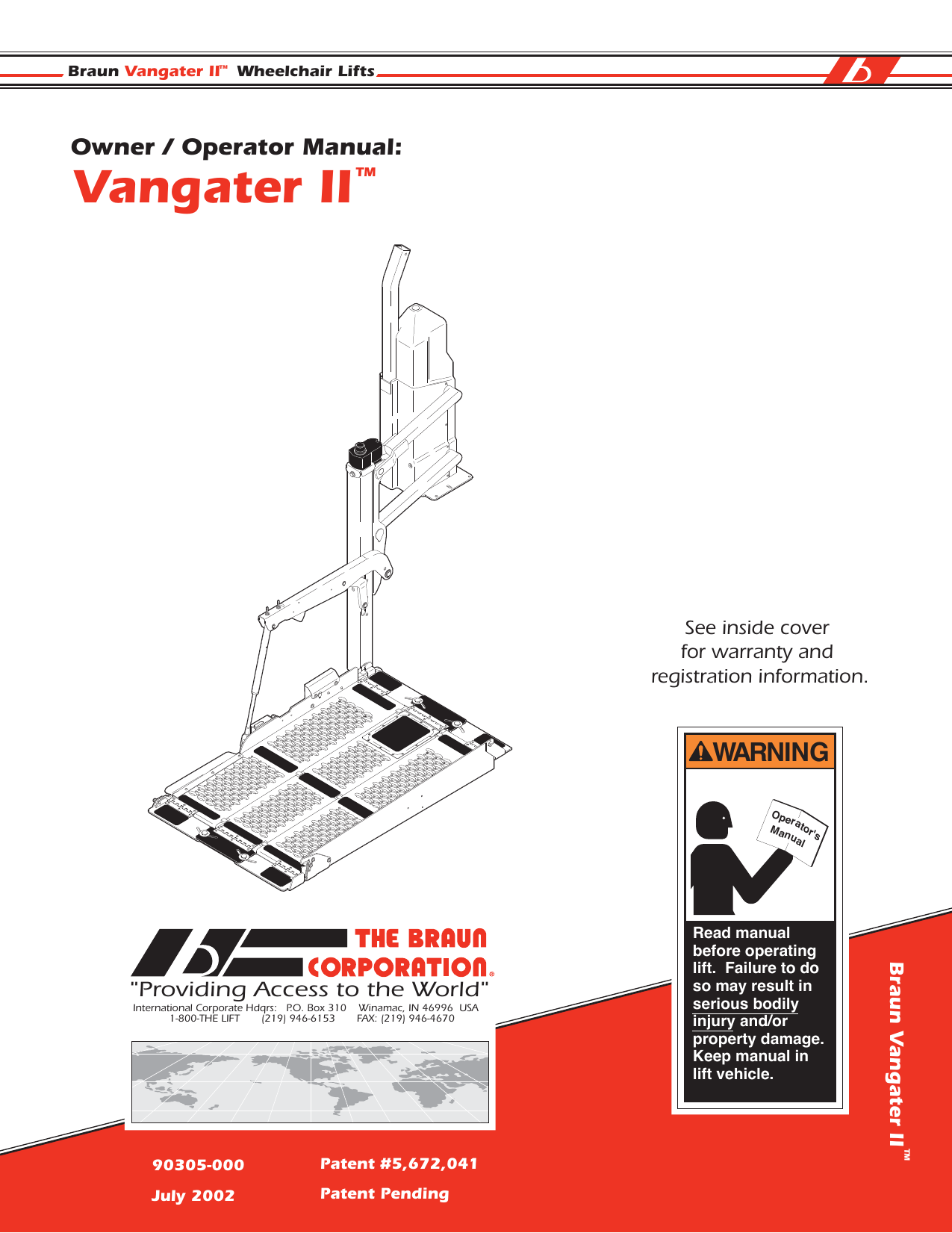 vangater ii rh studylib net braun lift manual operation braun lift manual ncl919fibhb-2