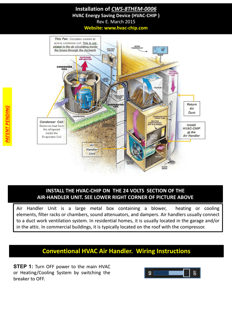 Amazing Conventional Hvac Air Handler Wiring Instructions Wiring Digital Resources Spoatbouhousnl