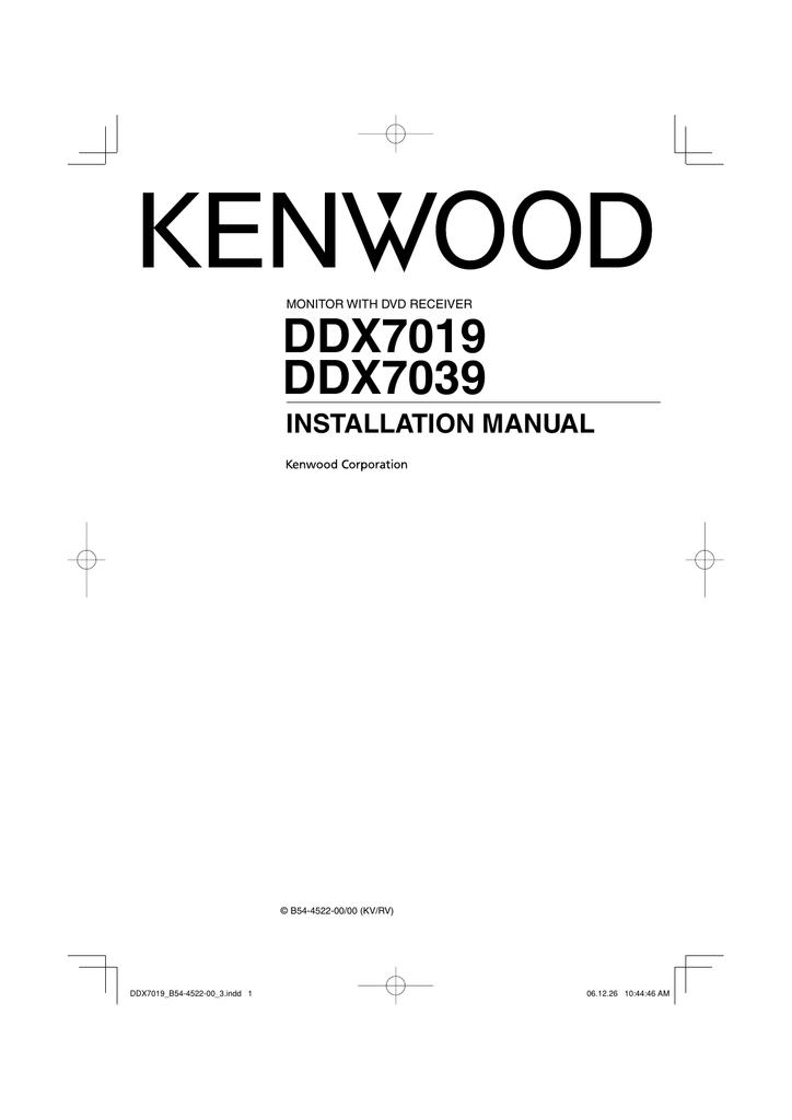 Terrific Kenwood Ddx7019 Wiring Diagram Basic Electronics Wiring Diagram Wiring Database Numdin4X4Andersnl