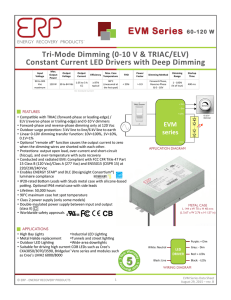 Data Sheet - Energy Recovery Products