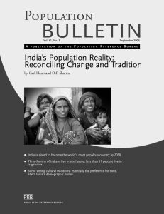 India`s Population Reality - Population Reference Bureau