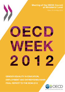 Gender Equality in Education, Employment and