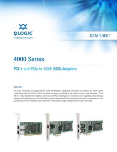QLogic 8400 Series for Cisco Data Sheet