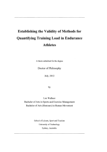 Establishing the Validity of Methods for Quantifying