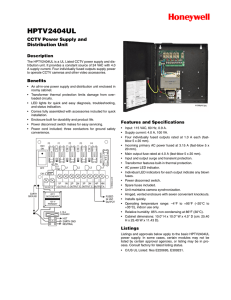 DH-1006 - Honeywell Power Products