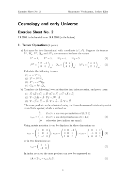 Exercise Sheet 2