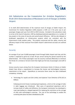 IAA - Commission for Aviation Regulation