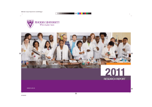 Research Report 2011